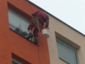Nátěr fasády panelového domu Ústí nad Labem