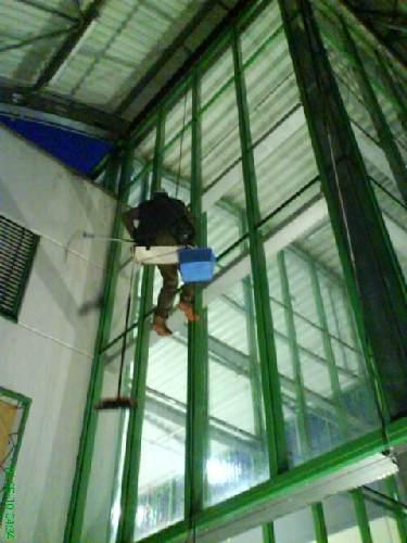 Mytí oken Globus Trmice