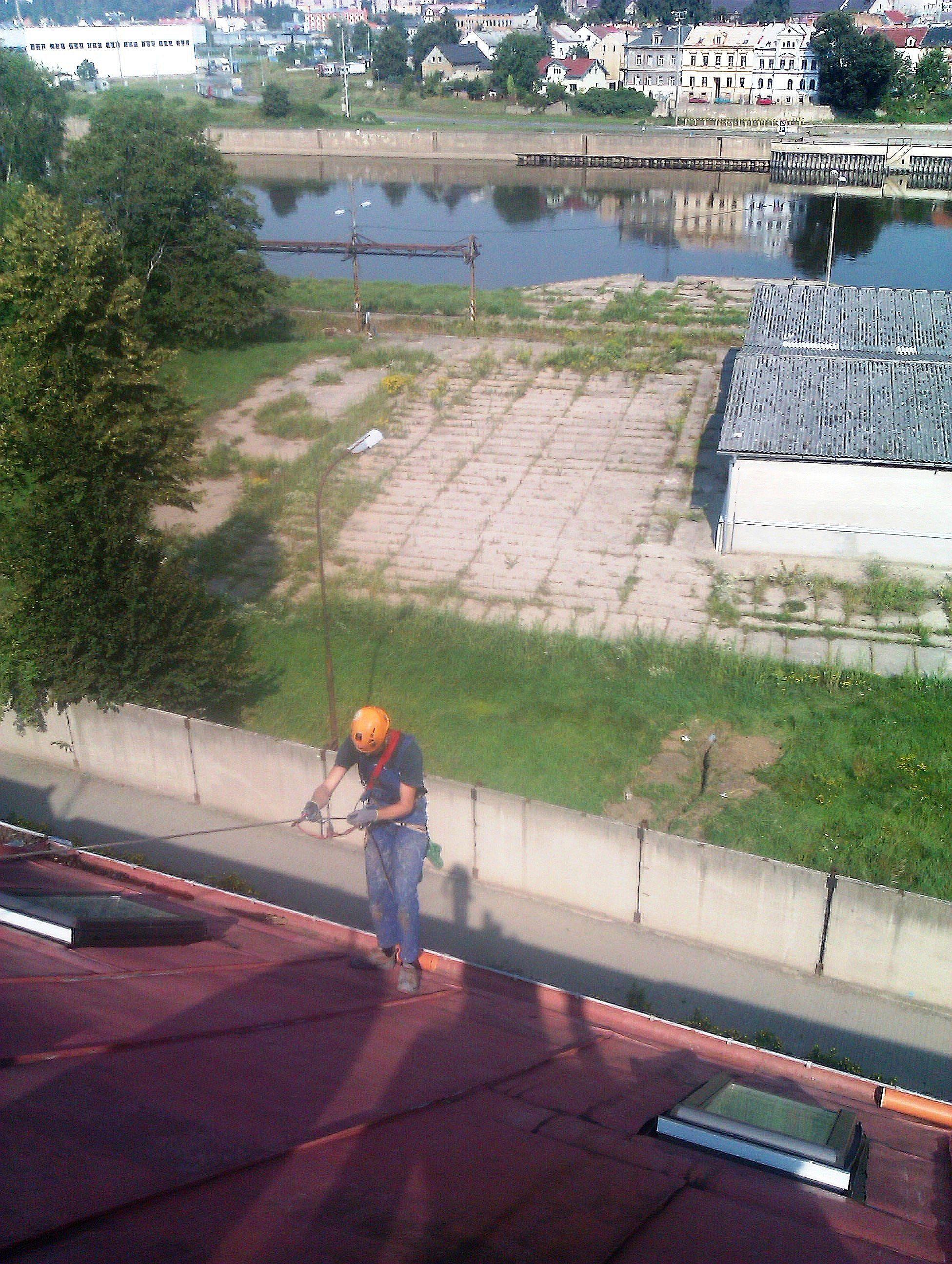 Nátěr střechy Svádov